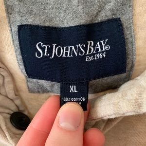 St. John's Bay Shirts - Men's Long Sleeve with buttons